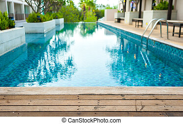 albergo, 25, ponte, maggio, sfondi, albergo, soleggiato, legno, ideale, 2016, lusso, riflessioni, stagno, nuoto
