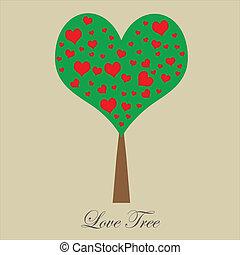 albero, amore, valentina