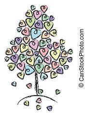 albero, amore