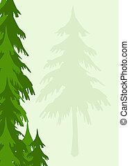 albero, fondo
