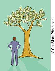 albero, investimento