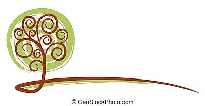albero, logo.