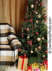 albero natale, e, regalo natale, b