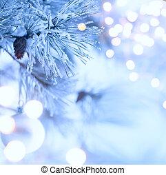 albero natale, luce