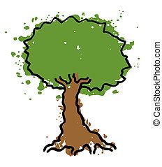albero, originale
