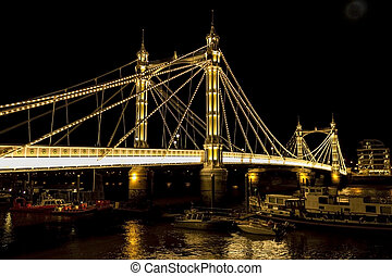 Albert Bridge in London