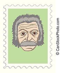 Albert Einstein author of theory of relativity - Albert ...