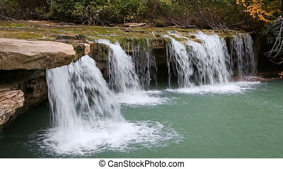 Albert Falls Plunge Loop - Albert Falls, a small plunging...