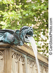 Albert Square Fountain, Manchester