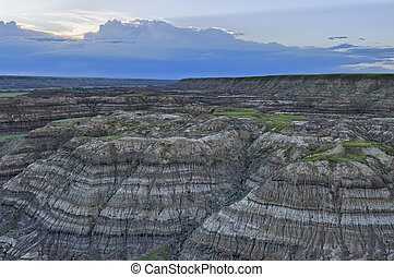 alberta, horsethief, canyon