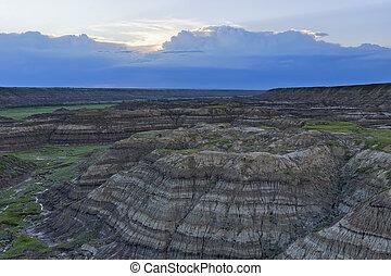 alberta, horsethief, canyon