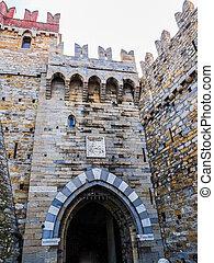 Albertis Castle in Genoa Italy HDR