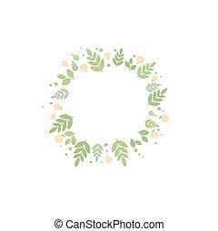 albicocche, cornice, foglie