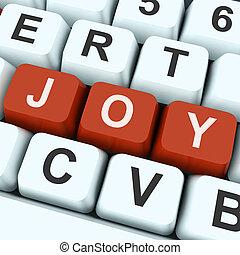 albo, radość, klucz, szczęście, zabawa, widać