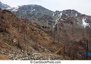 Alborz mountains, Iran