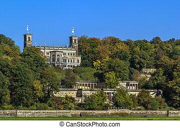 Albrechtsberg Palace, Dresden, Saxony, Germany