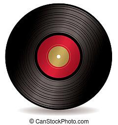 album, enregistrement, lp