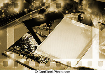 album, foto, spazio copia