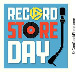 album nakrywają, rekord, dzień, zaopatrywać, design.