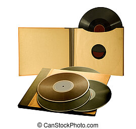 album with old records