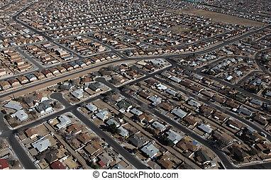 Albuquerque Homes Aerial