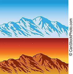 alcance montanha