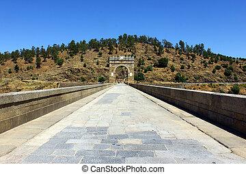 Alcantara Roman Bridge, Alcantara, Spain