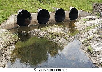 alcantarilla, drenaje