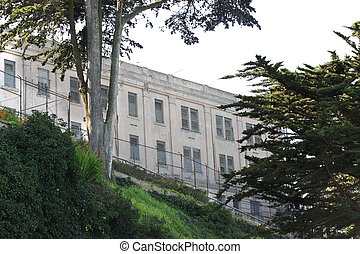 alcatraz, 刑務所