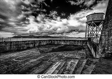 Alcatraz - Exercise Yard