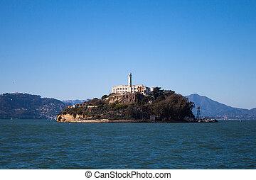 Alcatraz island - Alcatraz closed prison not far from San...