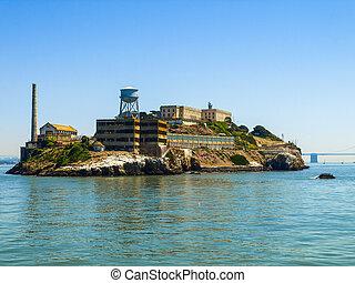Alcatraz Island - Alcatraz - The most known prison on the...