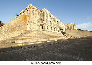 Alcatraz Island Federal Penitentiary Prison Building