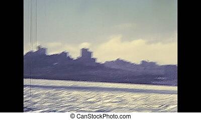 Alcatraz island in1980