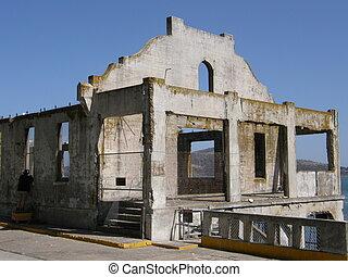 Alcatraz Island Jail in California