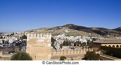 Alcazaba of Alhambra and Granada