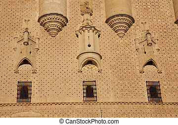 Alcazar in Segovia, Castilla y Leon, Spain