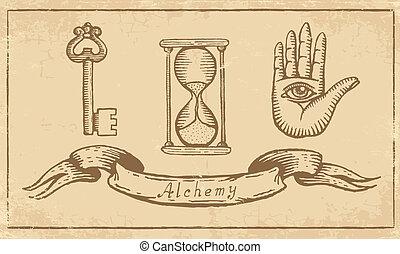 alchemical, 符號