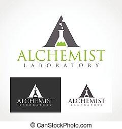 Alchemist Logo Symbol.