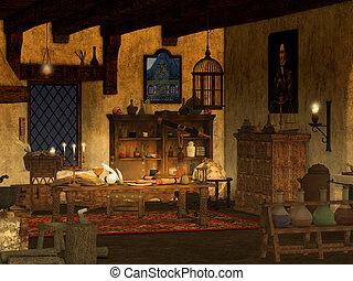 Alchemist Study