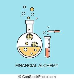 alchimia, finanziario