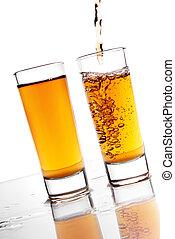 Alcochol pouring