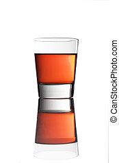alcohólico, colorido, bebidas