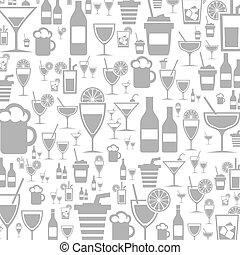 Alcohol a background - Background made of alcohol. A vector...