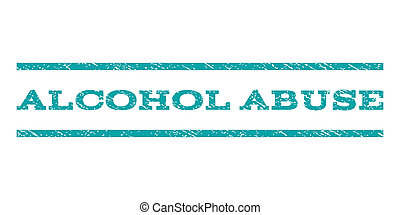 Alcohol Abuse Watermark Stamp