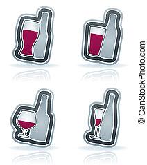 alcohol, anteojos