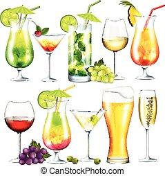 alcohol, bebidas