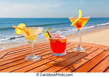 alcohol, cócteles