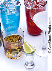 Alcohol, cócteles, bebidas