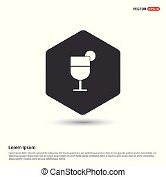 Alcohol cocktail icon